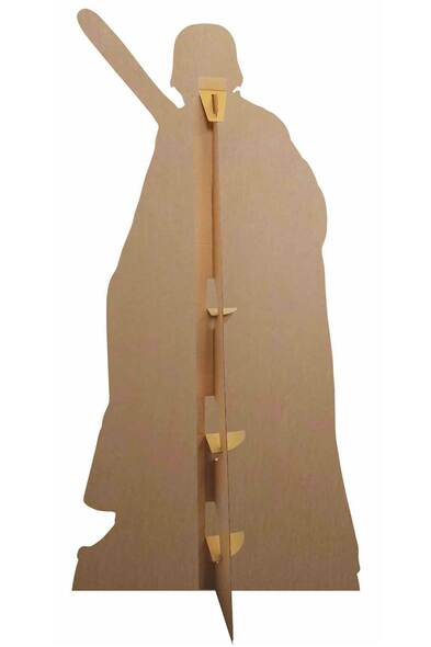 Rear of Kylo Ren from Star Wars: The Rise of Skywalker Cardboard Cutout