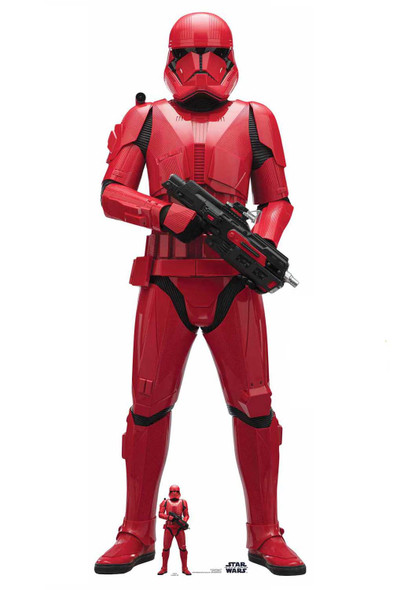 Sith Trooper Official Cardboard Cutout from Star Wars: The Rise of Skywalker