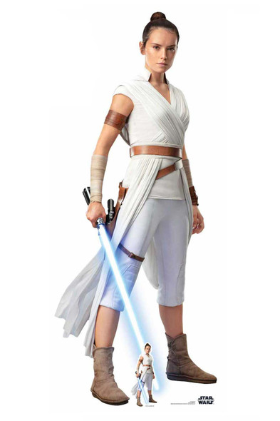 Rey Official Cardboard Cutout from Star Wars: The Rise of Skywalker
