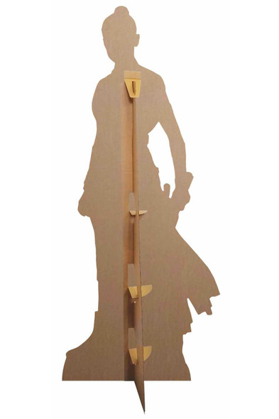 Rear of Rey Official Cardboard Cutout from Star Wars: The Rise of Skywalker