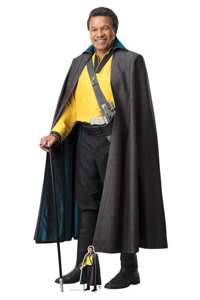 Lando Official Cardboard Cutout from Star Wars: The Rise of Skywalker