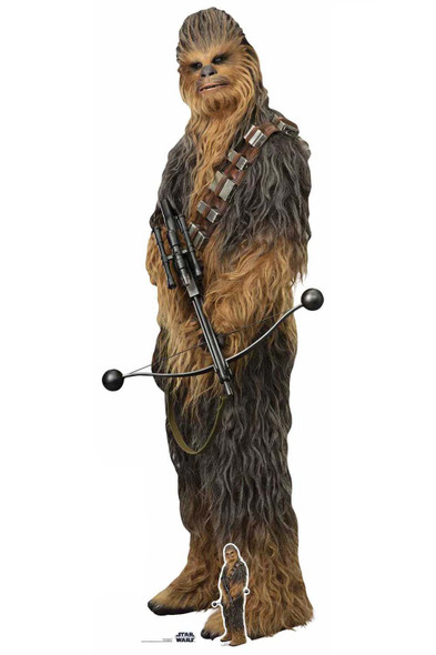 Chewbacca Official Cardboard Cutout from Star Wars: The Rise of Skywalker