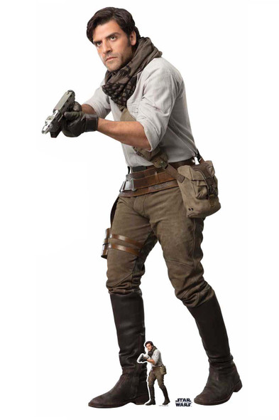 Poe Official Cardboard Cutout from Star Wars: The Rise of Skywalker