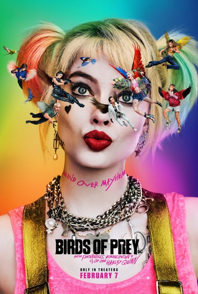 Birds Of Prey Original Movie Poster Advance Style