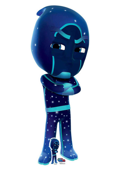 Night Ninja from PJ Masks Official Lifesize Cardboard Cutout / Standup