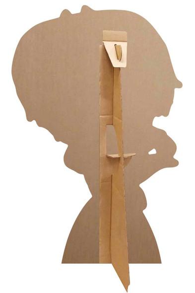 Rear of Luna Girl from PJ Masks Official Mini Cardboard Cutout