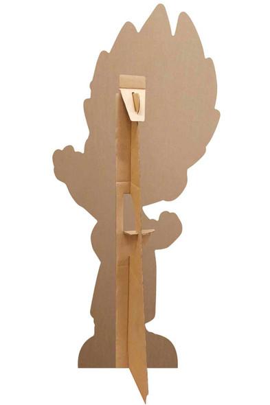 Rear of Romeo from PJ Masks Official Mini Cardboard Cutout