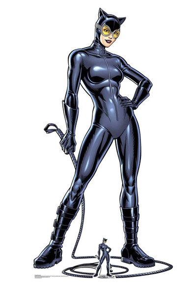 Catwoman with Whip Official DC Comics Lifesize Cardboard Cutout