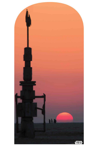 Star Wars Jakku Sunset Official Cardboard Cutout Backdrop / Standup