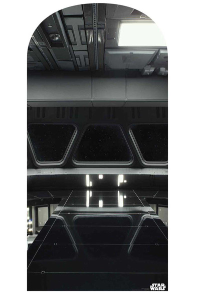 Star Wars Star Destroyer Bridge Official Cardboard Cutout Backdrop