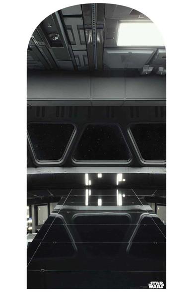 Star Wars Star Destroyer Bridge Official Cardboard Cutout Backdrop