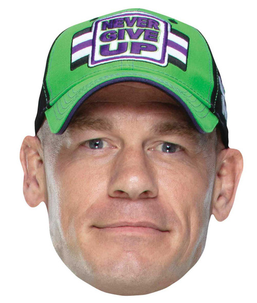John Cena WWE Wrestler Single 2D Card Party Face Mask