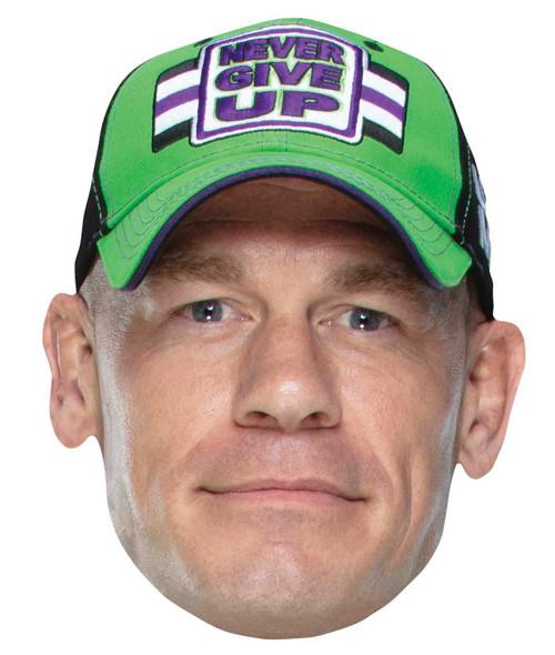 John Cena WWE Wrestler Single 2D Card Party Face Mask
