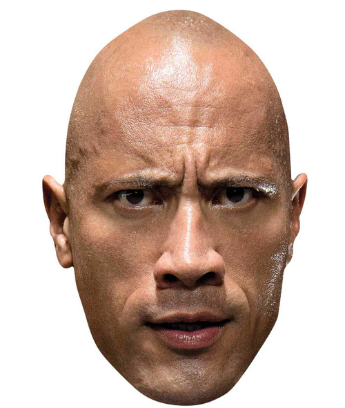 The Rock Dwayne Johnson WWE Wrestler Official Single 2D Card Party Face