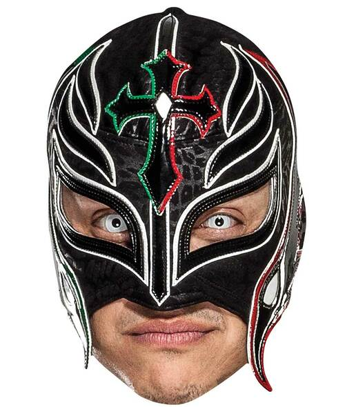 Rey Mysterio WWE Wrestler Official Single 2D Card Party Face Mask