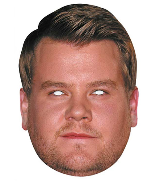 James Corden Celebrity 2D Single Card Party Face Mask
