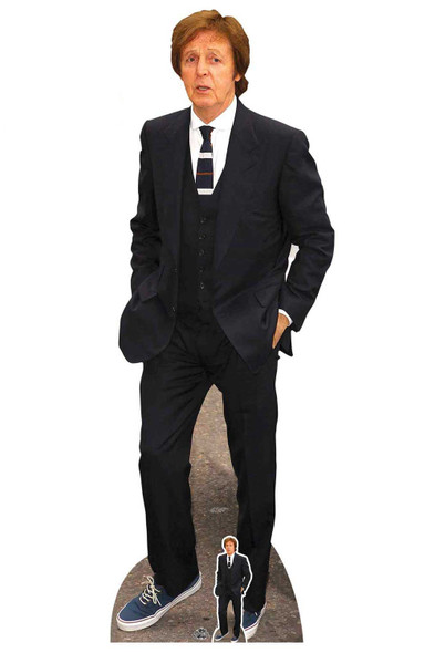 Paul McCartney Lifesize Cardboard Cutout / Standee / Standup