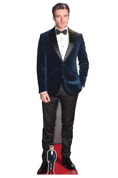Richard Madden Blue Jacket Lifesize Cardboard Cutout / Standee
