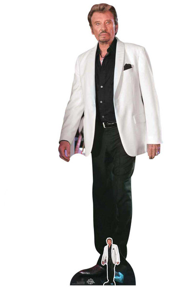 Johnny Hallyday Lifesize Cardboard Cutout / Standee / Standup