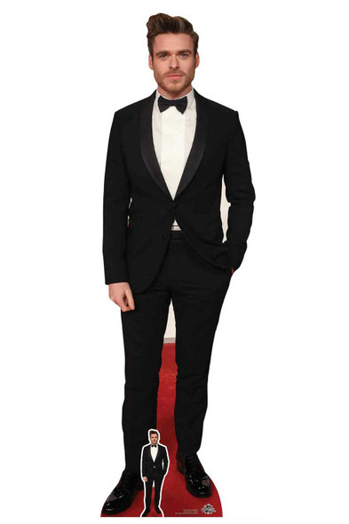 Richard Madden Bow Tie Black Tuxedo Cardboard Cutout / Standee