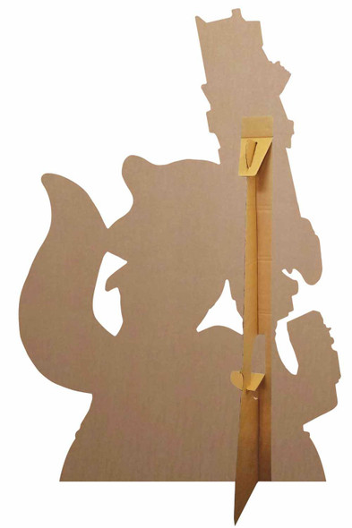 Rear of Rocket Raccoon and Baby Groot Official Marvel Cardboard Cutout