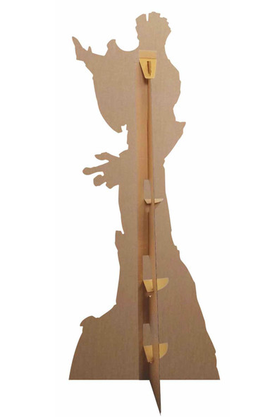 Rear of Groot Guardians of the Galaxy Official Marvel Cardboard Cutout