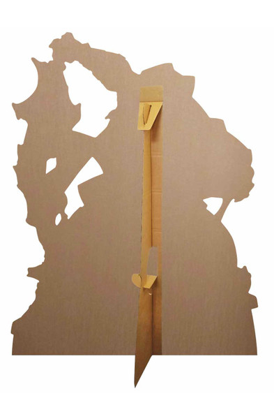 Rear of Thor Call the Storm Hammer Smash Official Marvel Cardboard Cutout