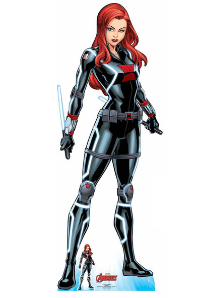 Black Widow Tell Me Everything Official Marvel Cardboard Cutout