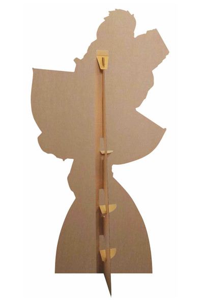 Rear of  Hawkeye holding Bow and Arrow Official Marvel Cardboard Cutout