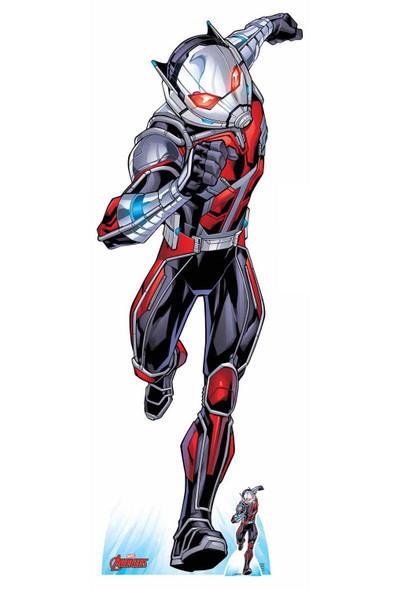 Ant-Man Official Lifesize Marvel Avengers Cardboard Cutout
