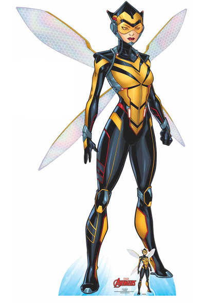 Wasp Official Lifesize Marvel Avengers Cardboard Cutout