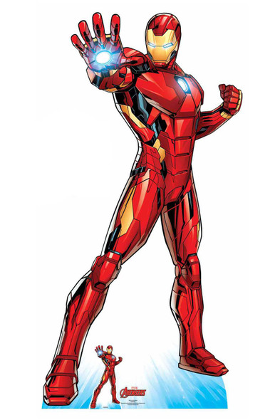 Iron Man Official Lifesize Marvel Avengers Cardboard Cutout