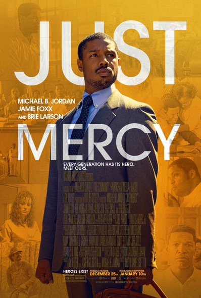 Just Mercy Original Movie Poster Double Sided Final Style