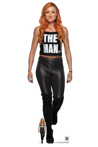 Becky Lynch 'The Man' WWE Lifesize Cardboard Cutout / Standup