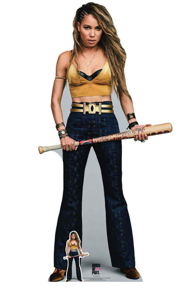 Black Canary Dinah Laurel Lance Birds of Prey Lifesize Cardboard Cutout