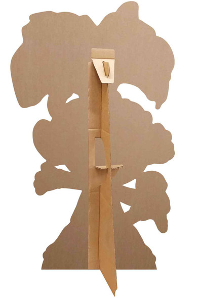 Rear of Princess Poppy Heart Glasses Official Trolls World Tour Mini Cardboard Cutout