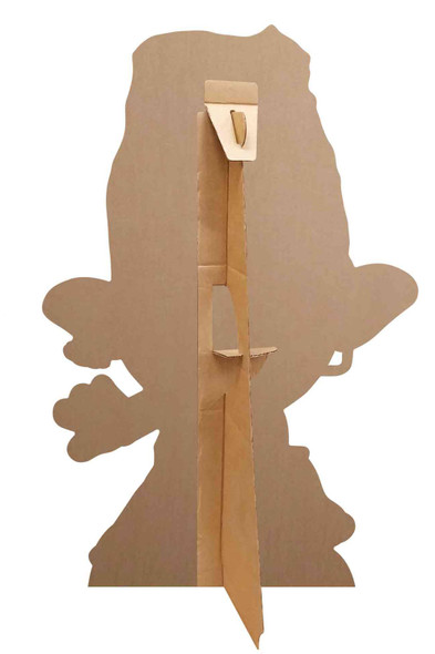 Rear of Branch Heart Glasses Official Trolls World Tour Mini Cardboard Cutout