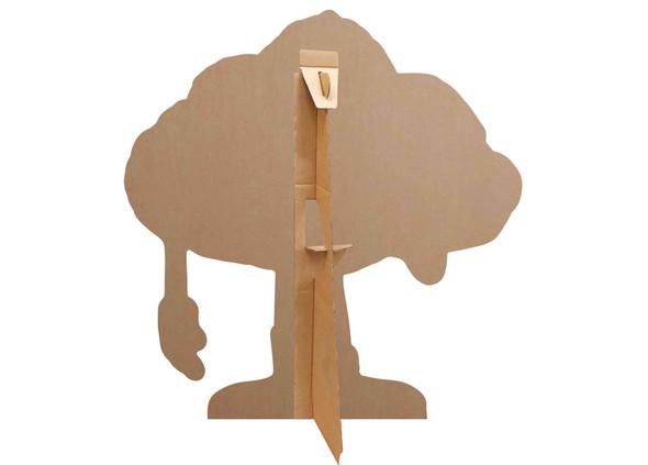 Rear of Cloud Guy Official Trolls World Tour Cardboard Cutout / Standee