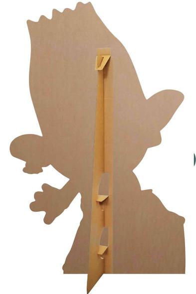 Rear of Branch Singing Official Trolls World Tour Lifesize Cardboard Cutout