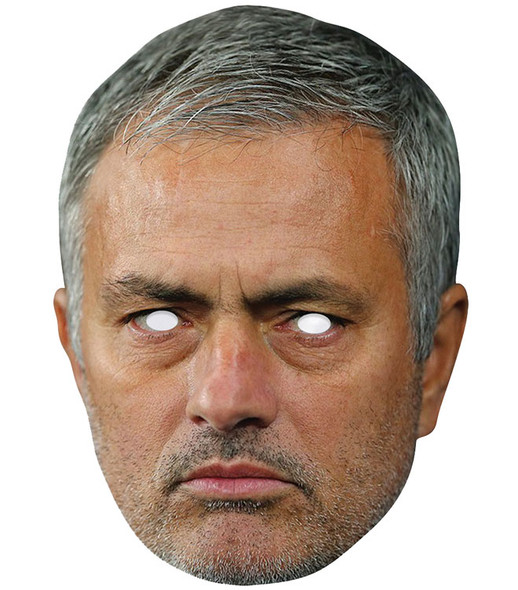 Jose Mourinho Football Celebrity 2D Single Card Party Face Mask
