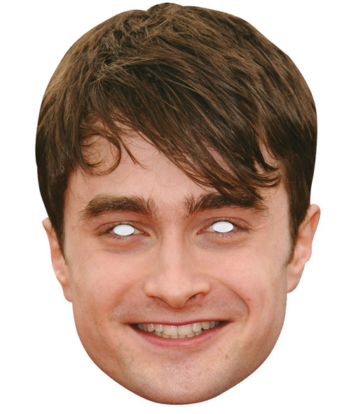 Daniel Radcliffe Celebrity 2D Single Card Party Face Mask