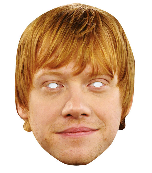 Rupert Grint Celebrity 2D Single Card Party Face Mask