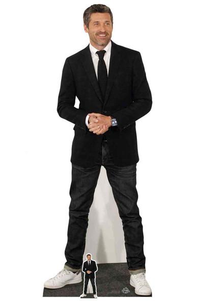 Patrick Dempsey Wearing Trainers Lifesize Cardboard Cutout / Standee