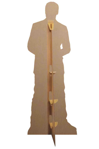 Rear of Patrick Dempsey Wearing Trainers Lifesize Cardboard Cutout / Standee