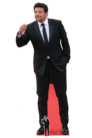 Purple Suit mini size Brian May Standee. Cardboard Cutout