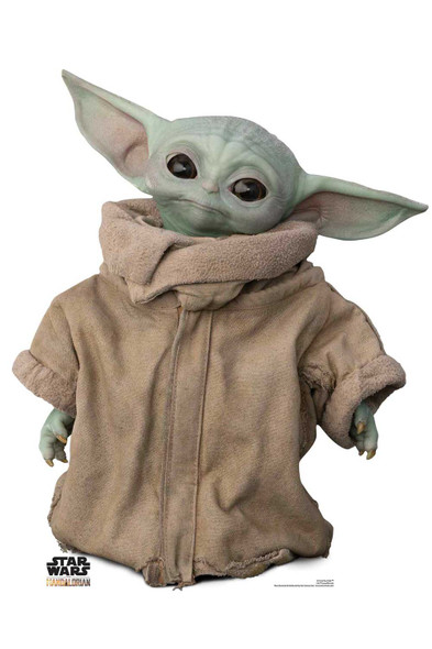 The Child (Baby Yoda) Head Tilt Official Mandalorian Cardboard Cutout