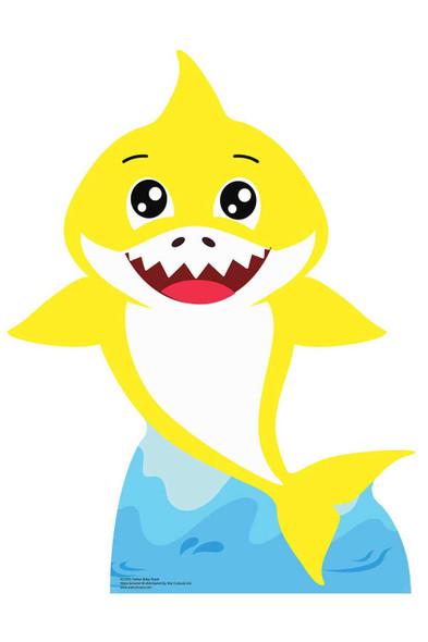 Baby Yellow Shark Cardboard Cutout / Standee / Standup