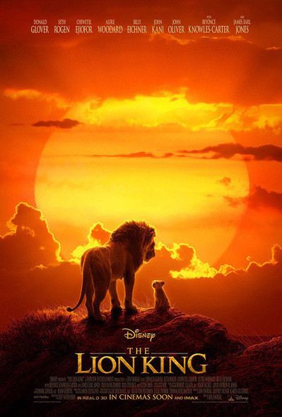 The Lion King Original Movie Poster Double Sided Final Style