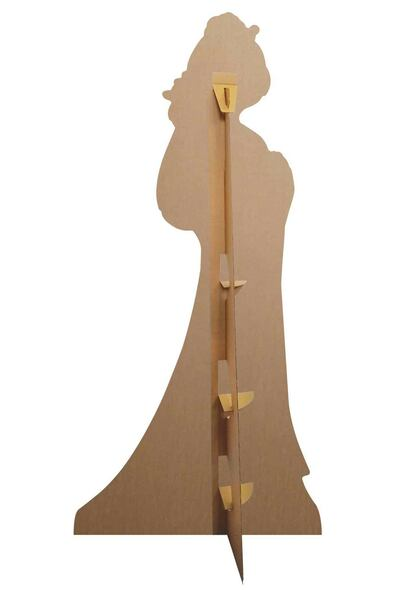 Rear of Mulan and Mushu from Mulan Official Lifesize Cardboard Cutout