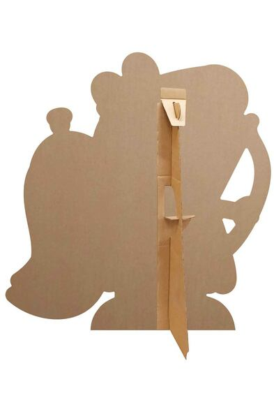Rear of Peppa Pig Cupid Bow and Arrow Cardboard Cutout